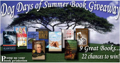 July Authors Book Giveaway